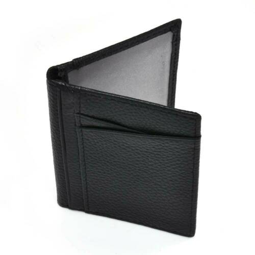 Vintage Genuine Leather RFID Card Holder Women MENS WALLET Credit Card Holders