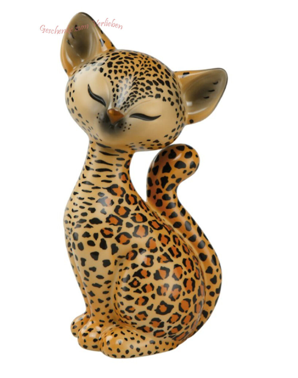 Goebel Kitty de luxe Leopard Kitty sitzende Katze 18 cm hoch