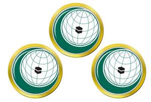 Oci-Organisation-de-Islamique-Cooperation-Marqueurs-de-Balles-de-Golf