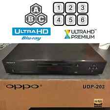 OPPO DIGITAL UDP-203 MULTI REGION CODE FREE 4K ULTRA HD UHD BLU-RAY PLAYER USED