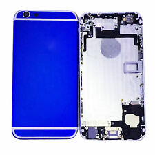 """Metal Dark Blue Back Battery Housing Cover Assembly Replace For iPhone 6P 5.5"""""""