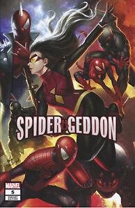 Spider-Geddon-5-Spider-man-In-Hyuk-Lee-Variant-Marvel-Comic-1st-Print-2018-NM