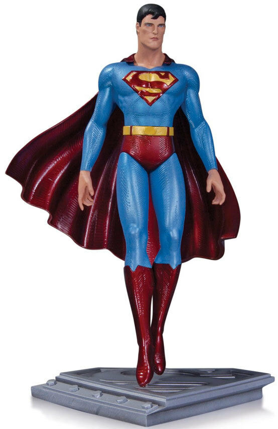 SUPERMAN - Man Of Steel Superman  Moebius 8.5  Statue (DC Collectibles)  NEW