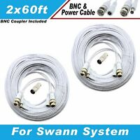 Swann Compatible High Quality 120ft Camera Cable F/ Codv8-b960b