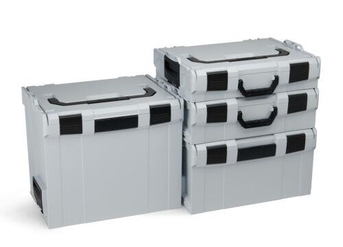 Roller innovant système de transport Bosch Sortimo 4er Set L-Boxx gr1-gr4 Incl