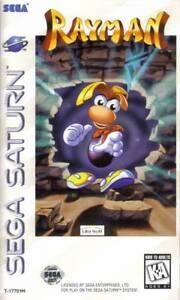 Rayman-Sega-Saturn-Great-Condition-Fast-Shipping