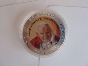 Vatikan-Medaille-in-Kapsel-Johannes-Paul-II