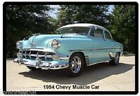 1954 Chevy Muscle Car Refrigerator Magnet