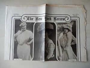 November 11th, 1911 - The New York Review Newpaper