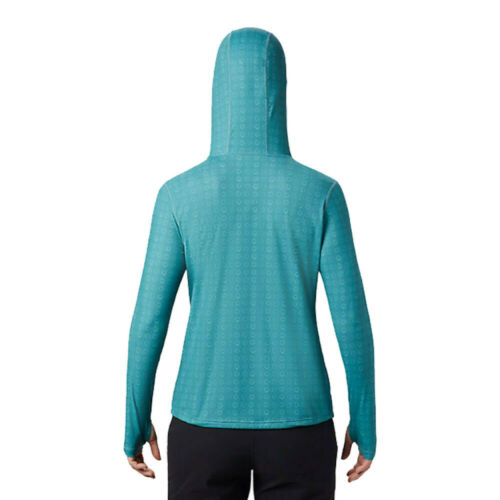 Mountain Hardwear Womens Crater Lake Hoody Blue Sports Outdoors Hooded