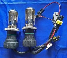 One Pair 35W XENON HID REPLACEMENT BULBS Lamp H4 4300K