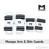 Moospo Arm & Shin Guards Taekwondo Arm And Leg Protector Karate Hapkido