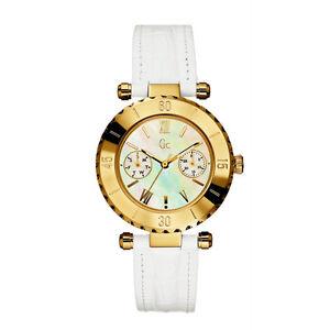 De Fecha Fregona Gc Blanco Guess Dama Reloj Ver Collection Chic Oro Nuevo Detalles Correa Diver I25039l1 Título Original N8nvm0wO