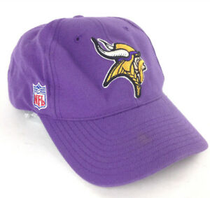 5d43ef32763ea Image is loading Minnesota-Vikings-NFL-Reebok-Embroidered-Logo-Purple -Football-