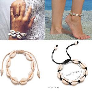 Summer-Beach-Sea-Shell-Bracelet-Women-Jewelry-Ankle-Bracelets-Foot-Chain-D6