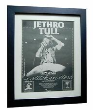 JETHRO TULL+Stitch In Time+POSTER AD+RARE+ORIGINAL+1978+FRAMED+FAST GLOBAL SHIP