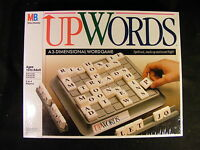 Upwords From Milton Bradley (1988) Family Game Ages 10 And Up Brand Sealed