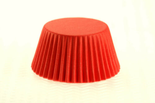 Muffin Cake Cases Different Quantities Available RED Cupcake