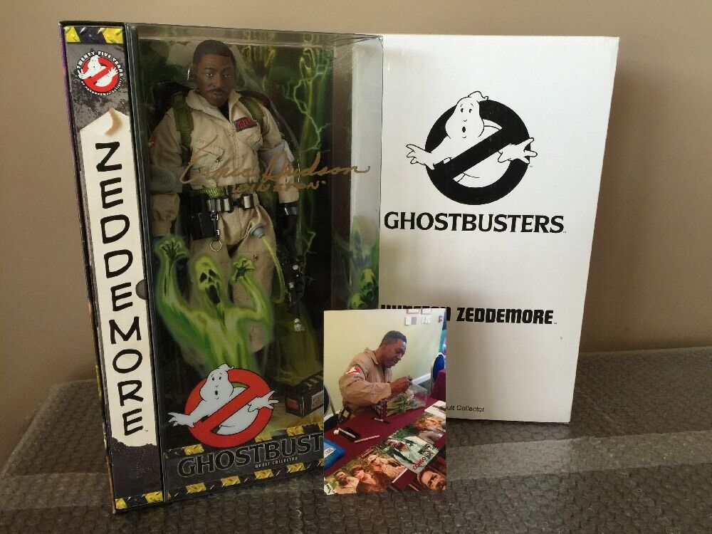 Mattel Ghostbusters Exclusive 12 Inch Winston Zeddemore Signed By By By Ernie Hudson 62cce7