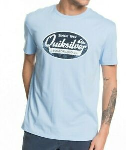QUIKSILVER-MENS-T-SHIRT-NEW-WHAT-WE-DO-BEST-BLUE-COTTON-SHORT-SLEEVED-TOP-9W-92B