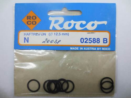 Roco N 20038 02588 B Haftreifen Ø 12,5mm 10 Stück NEU /& OVP CH13512
