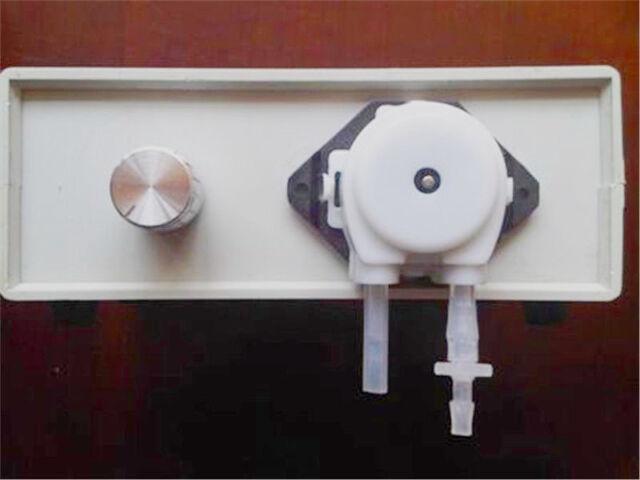 Dosing Pump For Aquarium DIY, white color small dosing pump
