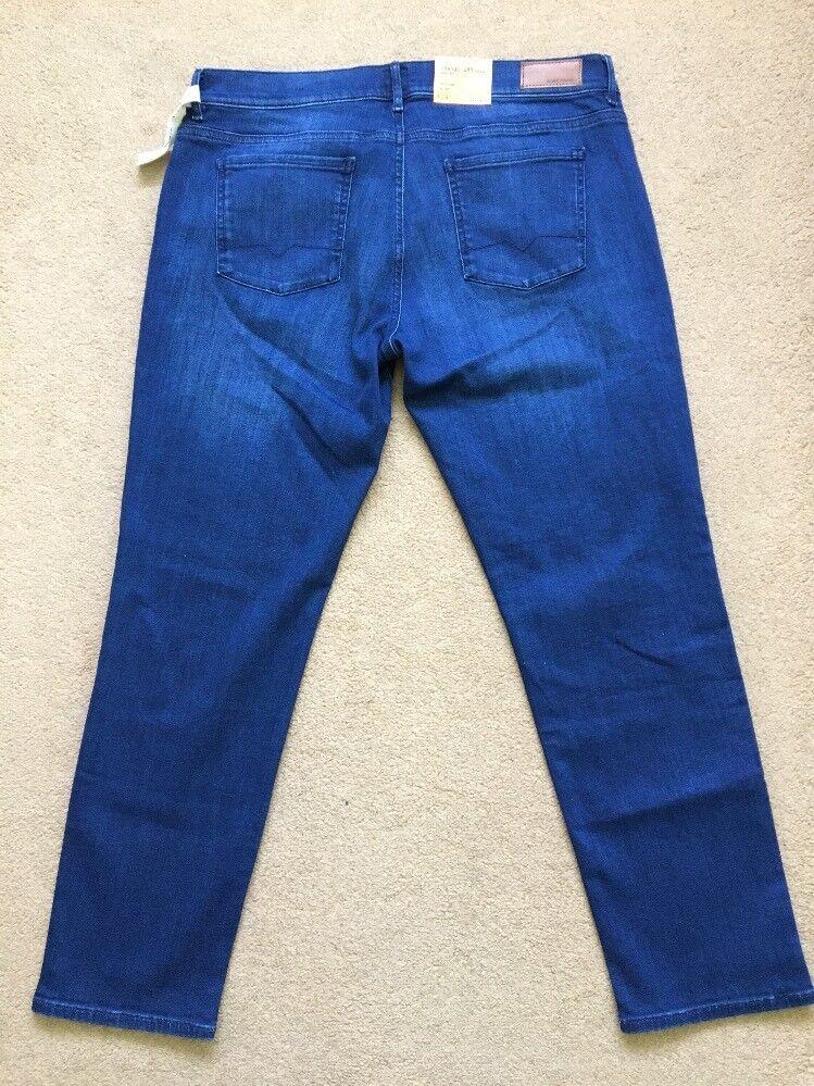 "Hugo Boss Orange J31 Extensible Taille Haute Bleu Femme Jeans, W32""-L29"", 120 £"