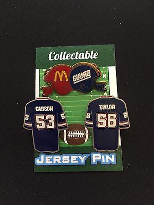 Lt New York Giants Revers Stifte- 3 Carson & Selten Mcdonalds