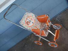 RARE 1963/64 Chatty Cathy & Baby Walk 'n Talk Stroller carriage toy doll Mattel