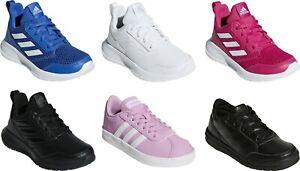 Adidas-Alta-Kids-Trainers-Junior-Boys-Girls-School-Sport-Travel-PE-Shoes-Black