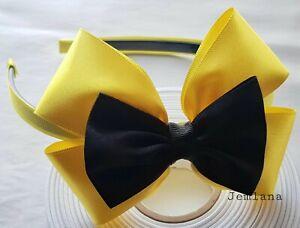 for girls... Jemlana/'s handmade Emma wiggle bow headbabd