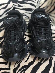 BALENCIAGA Track 2 Sneakers Black Size
