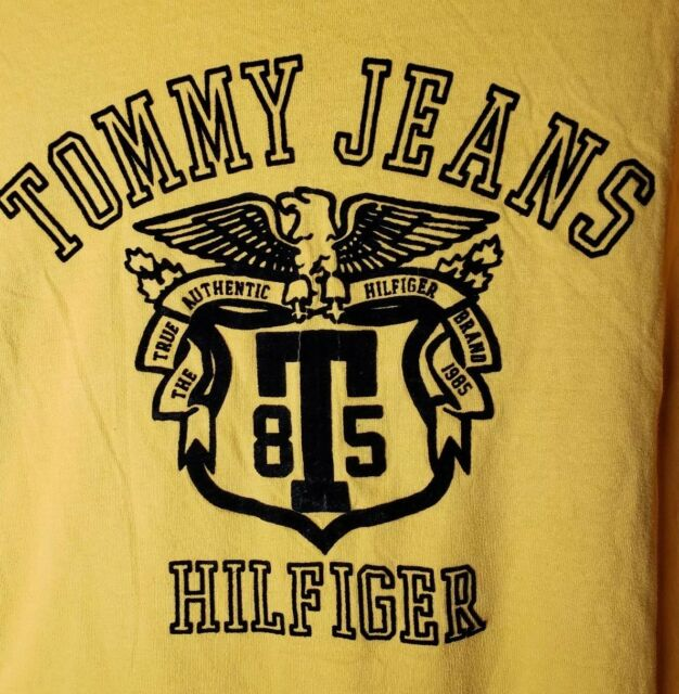 e370796b Vintage Authentic Tommy Hilfiger Tommy Jeans Big Logo Spell Out T-shirt XL