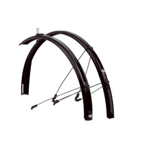 C50 Shield R30 Road Racing Bike Mudguards F/&R Set Zefal Paragon C40 Black