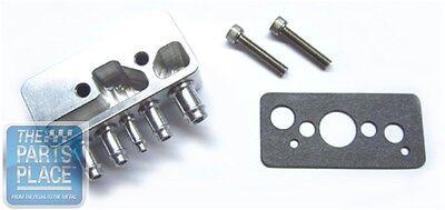 1984-85 Buick Grand National Aluminum Vacuum Block Mounts On Throttle Body