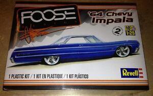 Revell-1964-Chevy-Impala-Foose-1-25-scale-plastic-car-model-kit-4050-DAMAGED-BOX