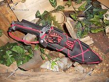 Machete/Bowie/Knife/Harpoon/Spear/Carbon steel/440SS/Full tang/Survival kit
