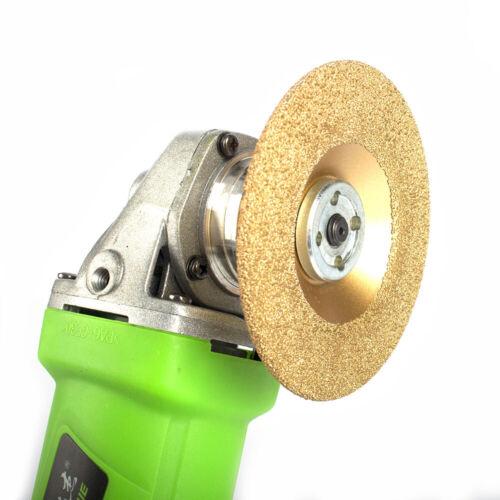 4/'/' Durable Vacuum Brazed Diamond Grinding Wheel Cutting Disc Abrasive Wheel