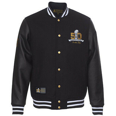 Majestic Superbowl Fifty College Jacket - Limited Edition