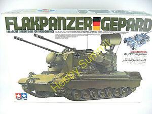 Vintage-Tamiya-1-16-R-C-FLAKPANZER-GEPARD-GermanTank-Kit-5603-NEW-IN-BOX