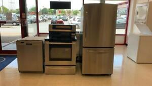 Fridge, Stove And Dishwasher Stainless Steel Set only $566 Toronto (GTA) Preview