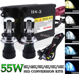 HID Xenon Conversion KIT Bulbs Headlight Fog Light H11 H13 FIT 94-2010 Dodge Ram