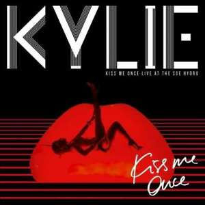 KYLIE-MINOGUE-KISS-ME-ONCE-vivre-a-the-sse-hydro-NEUF-CD-DVD