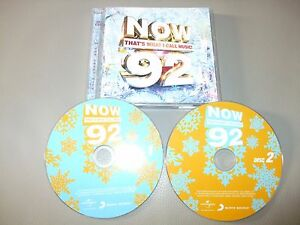 Details about Now 92 - Now That's What I Call Music 9 (CD) 46 Tracks - Nr  Mint - Fast Postage