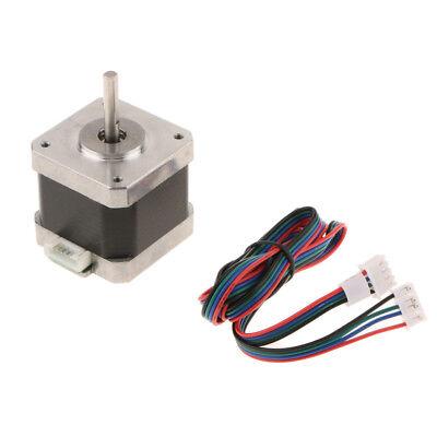Nema17 42 Stepper Motor 4 Wire 4.8V 1.3 A 500rpm Cable Step Motor for CNC