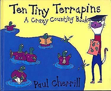 Ten Tiny Terrapins by Cherrill, Paul-ExLibrary