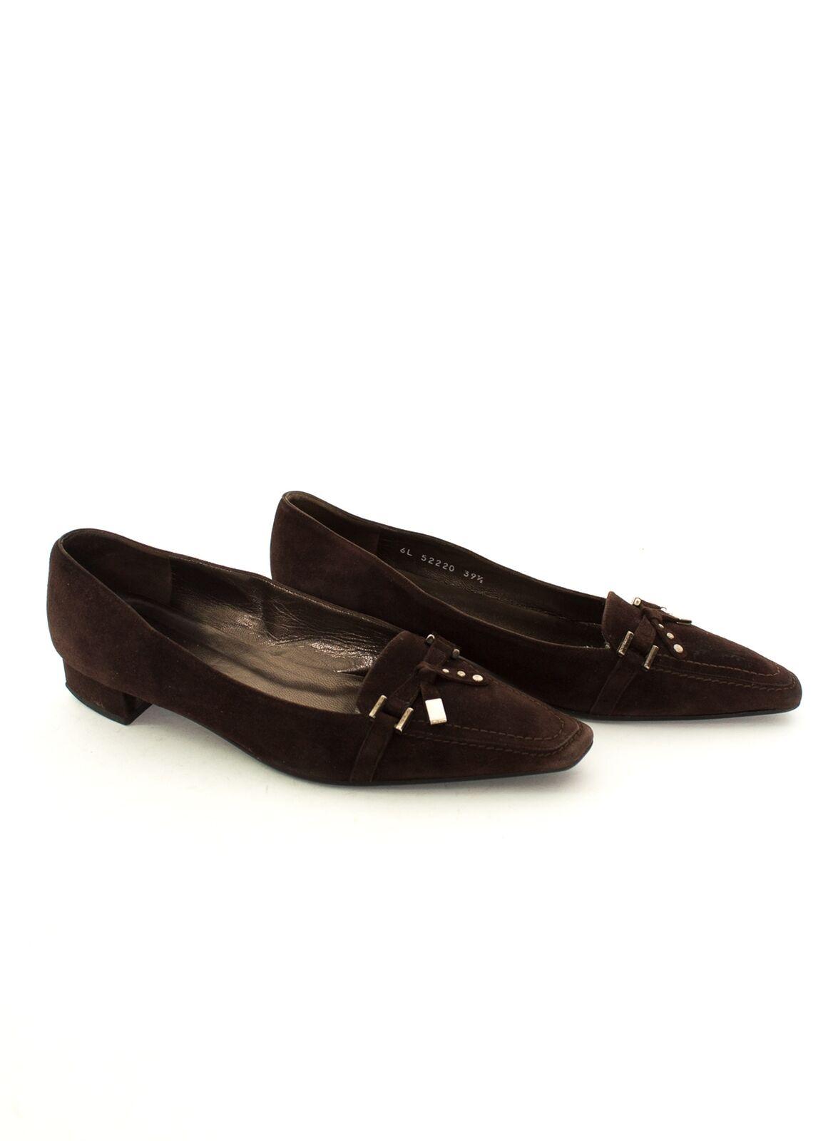 STUART WEITZMAN WEITZMAN WEITZMAN Pumps Gr. EU 39,5 Damen Schuhe High Heels Laufer Braun Leder  | Neueste Technologie  c15918