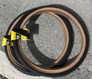 GT Freestyle tires Pair BMX old school pro performer Dyno vertigo 1.75 PFT LP 5