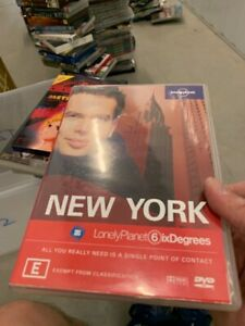 New-York-Lonely-Planet-Six-6-Degrees-DVD-very-good-condition-t2