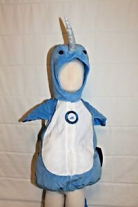 Baby-Infant-Toddler-Boutique-Narwhal-Costume-Halloween-Unicorn-Whale-Kids-NEW